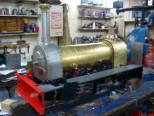 Hunslet-boiler-lagged