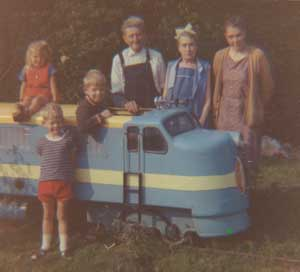 Diesel with family 1969